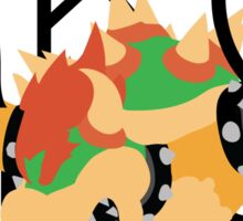 Bowser Outta Nowhere Sticker
