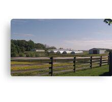 New Jersey Farm Canvas Print