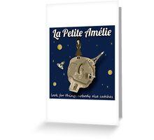 La Petite Amelie (monotone) Greeting Card