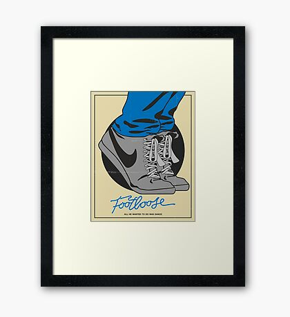 Footloose Framed Print