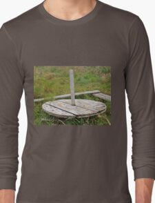 A Round Wooden Thing Long Sleeve T-Shirt