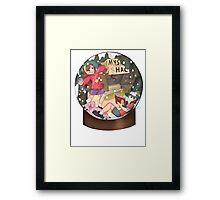 Snow Globe Fan Art Framed Print