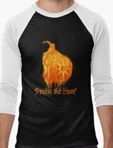 Praise The Sun Fire Men's Baseball ¾ T-Shirt