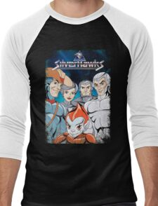SilverHawks Men's Baseball ¾ T-Shirt