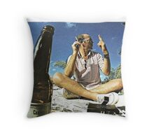 Hunter.S.Thompon Throw Pillow