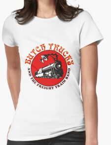 butch train gereja Womens Fitted T-Shirt