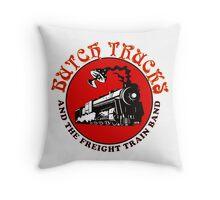butch train gereja Throw Pillow