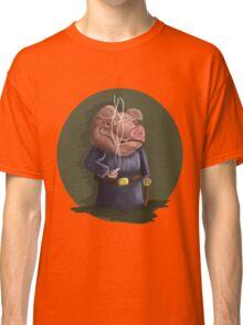 Smoking Pig Classic T-Shirt
