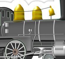 American Steam Locomotive 1880 Sticker