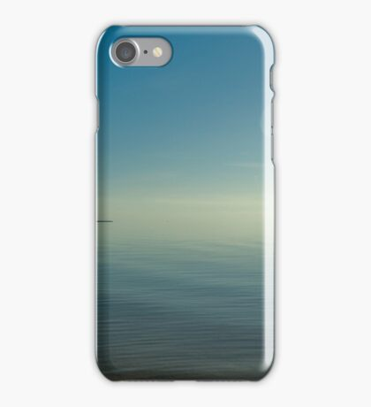 An image of the beautiful water background iPhone Case/Skin