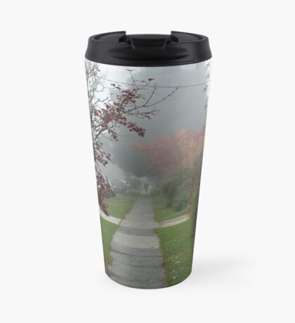 Leura in the fog Travel Mug
