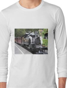 Puffing Billy steam train engine, Australia Long Sleeve T-Shirt