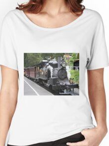 Puffing Billy steam train engine, Australia Women's Relaxed Fit T-Shirt