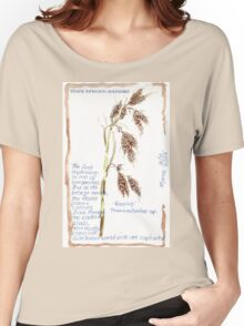 Thamnochortus insignis - Botanical Women's Relaxed Fit T-Shirt