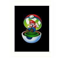 pocket plumber Art Print