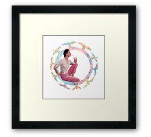 VINTAGE LOVE #1 Framed Print