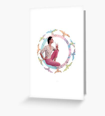 VINTAGE LOVE #1 Greeting Card