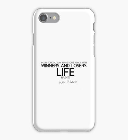 winners and losers - bill gates iPhone Case/Skin
