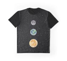 MOON EARTH SUN  Graphic T-Shirt