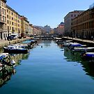 Gran Canal in Trieste by annalisa bianchetti