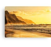Napali Coast Kauai Canvas Print