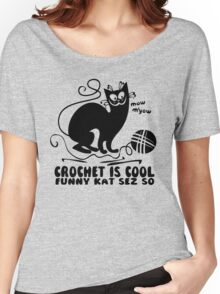 Crochet is Cool Women's Relaxed Fit T-Shirt
