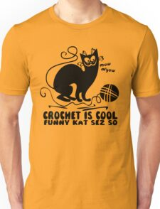Crochet is Cool Unisex T-Shirt