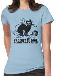 Crochet is Cool Womens Fitted T-Shirt