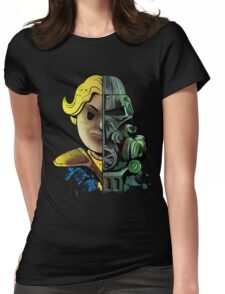 Face Off Womens Fitted T-Shirt