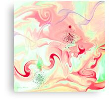 happy day-Abstract-  Art + Products Design  Canvas Print