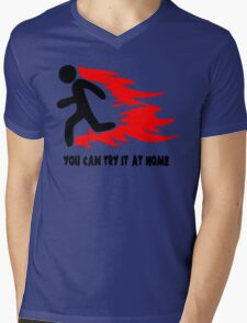 You Can Try It At Home Mens V-Neck T-Shirt