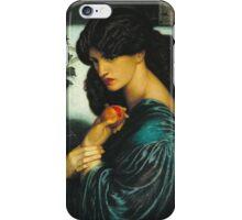 Dante Gabriel Rossetti - Proserpine ,Portrait Of A Woman iPhone Case/Skin