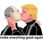 Trump kissing Putin by bonanu