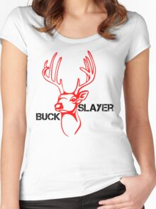 The Buck Slaye Women's Fitted Scoop T-Shirt