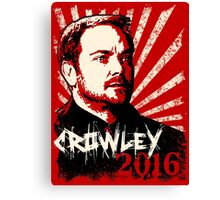 Crowley 2016 - King of Hell Canvas Print