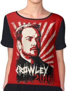 Crowley 2016 - King of Hell Chiffon Top