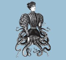 Victorian Squid Woman One Piece - Short Sleeve