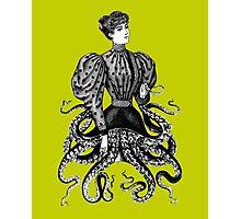 Victorian Squid Woman Photographic Print