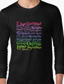 Harry potter mantra Long Sleeve T-Shirt