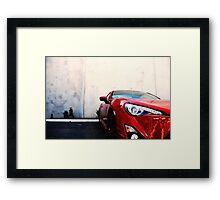 Toyota 86 GTS (II) Framed Print