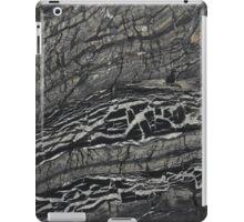 Black stone Marble iPad Case/Skin