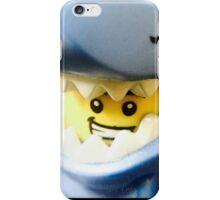 Lego Shark Suit Guy minifigure iPhone Case/Skin