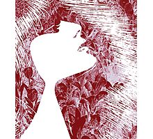 Sensuality, face Photographic Print