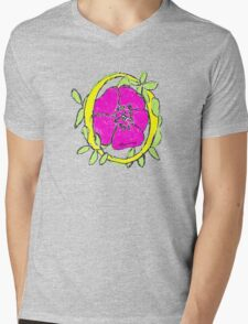Flower in the ring Mens V-Neck T-Shirt