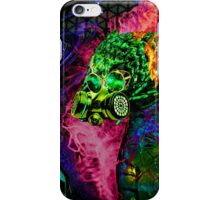 Mask Alien Brain Scape iPhone Case/Skin