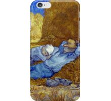 Vincent van Gogh The Siesta iPhone Case/Skin