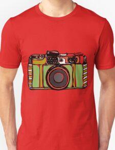 Vintage film camera  Unisex T-Shirt