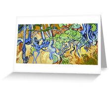 Vincent van Gogh Tree Roots Greeting Card