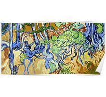 Vincent van Gogh Tree Roots Poster