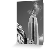 The Empire State Building Greeting Card